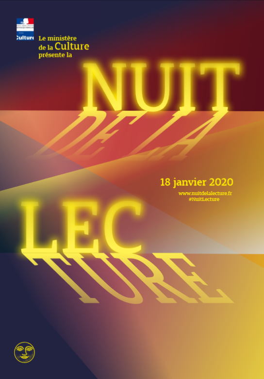 """Résultat de recherche d'images pour """"nuit de la lecture 2020"""""""